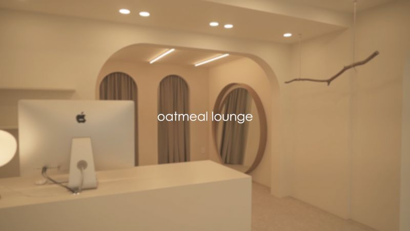 OATMEAL LOUNGE INTERIOR COMPLETE FILM