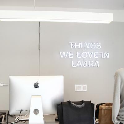 THINGS WE LOVE IN LAURA